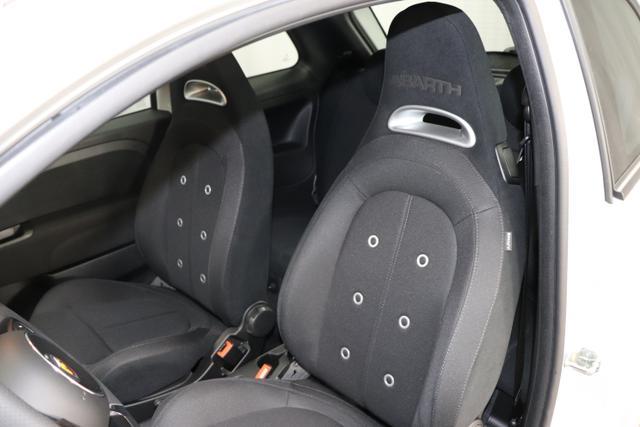 "Abarth 595 MY19-1.4 T-Jet 107 KW (145PS) MY19 "" 676 Campovolo Grey, ""7QC UconnectTM HD-NAV mit Europakarte und Radio mit 7"""" Touchscreen, AUX-IN, USB, Bluetooth®, DAB und UconnectTM LIVE1 8EW Apple Carplay / Android Auto 4AY 17""""Leichtmetallfelgen Design ""Touring"" 10-Y-Speichen Finish Silber"""