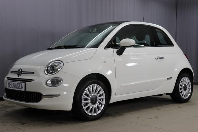 Fiat 500 - Lounge Sie sparen 7.290 Euro 1,2 8V Uconnect NAVIGATION und DAB+, Apple CarPlay/Android, PDC hinten, Kühlergrill Verchromt, Klimaautomatik, Glasdach feststehend, 15