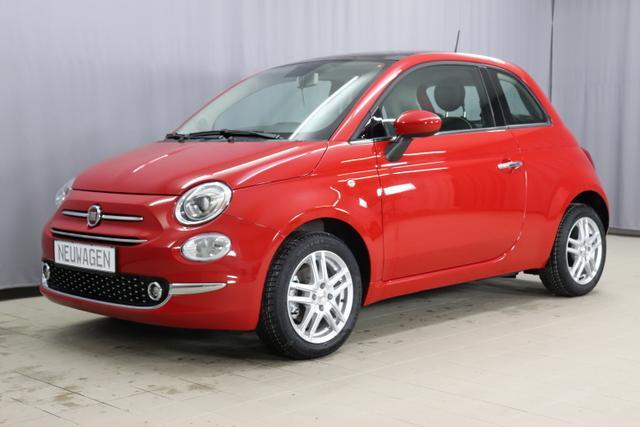 Fiat 500 - Lounge 1,2 8V S&S Sie sparen 8.515€ Klimaautomatik, Connect Plus Paket NAVI DAB Apple Android, City PDC Licht- Regensensor, 15 Zoll Leichtmetallfelgen, Nebelscheinwerfer, Euro 6d-Temp, Instrumentenanzeige als 7 TFT Farbdisplay uvm.