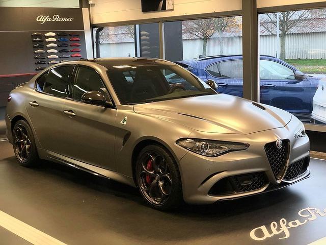 Alfa Romeo Giulia - NRING Edition 2.9 V6 Bi-Turbo 510PS AT8 Quadrifoglio EINER von 108