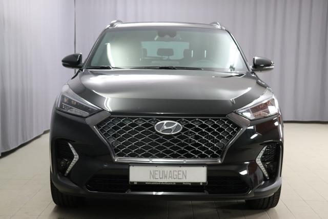 Hyundai Tucson - N-LINE 1,6 CRDI 4WD DCT Navigationssystem, Rückfahrkamera, Sitzheizung, 19 Zoll Leichtmetallfelgen, Leder Sportsitze