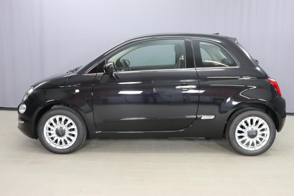 Fiat 500 City Vesuvio Schwarz