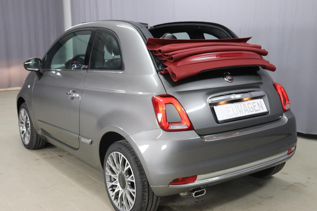 Fiat 500C Star 69PS Pompei Grau