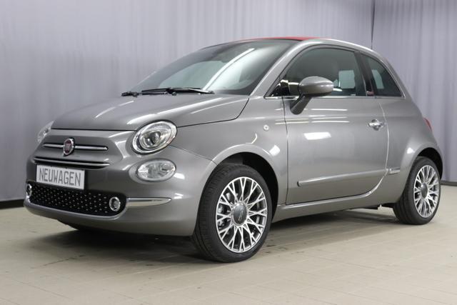 Fiat 500C - Star Sie sparen 7455 Euro 1,2 8V Navigationssystem, DAB, Klimaautomatik, PDC hinten, Apple Carplay / Android Auto, Licht und Regensensor, Lederschaltknauf, 16 Zoll Alufelgen