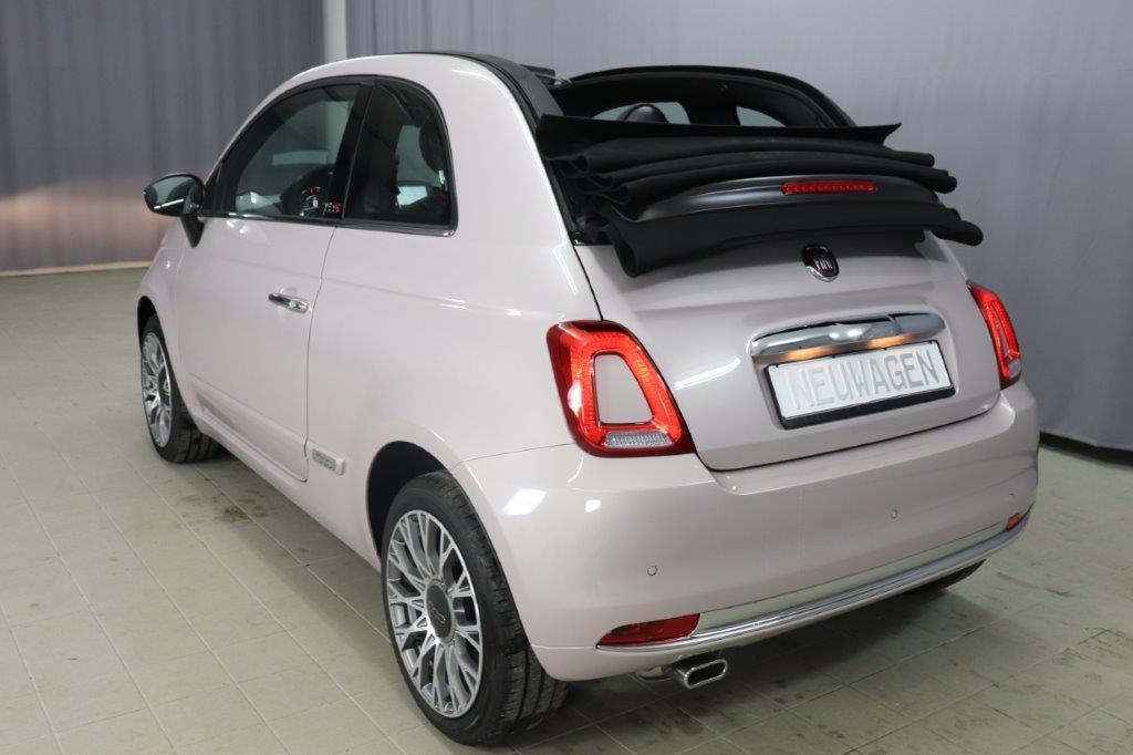 Fiat 500C 1,2 8V S&S Star 51kW 69 PS 494 Stella Weiß