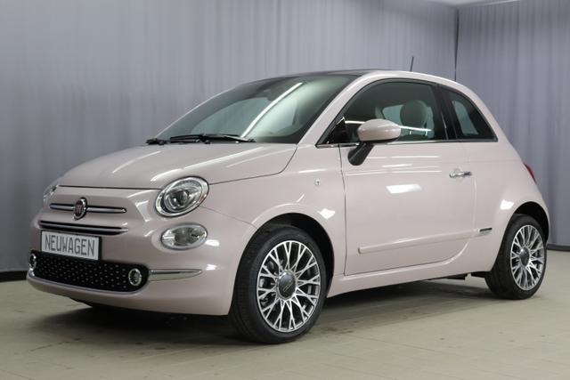 Fiat 500 - Star Sie sparen 6.555 Euro 1,2 8V Panorama-Dach, Navigationssystem, DAB, Klimaautomatik, PDC hinten, Apple Carplay / Android Auto, Licht und Regensensor, Lederschaltknauf, 16 Zoll Alufelgen uvm.