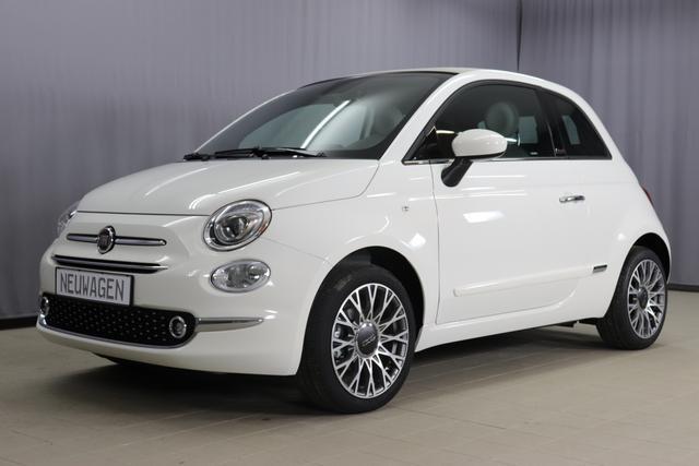 Fiat 500C - Star Sie sparen 6615 Euro 1,2 8V Navigationssystem, DAB, Klimaautomatik, PDC hinten, Apple Carplay / Android Auto, Licht und Regensensor, Lederschaltknauf, 16 Zoll Alufelgen