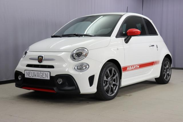 Abarth 595 - Sie sparen 6.380 Euro 1,4 T-Jet 145PS, Privacy Glass, Nebelscheinwerfer, Kit Estetico ROT, Analoges Manometer, Klimaanlage, 16