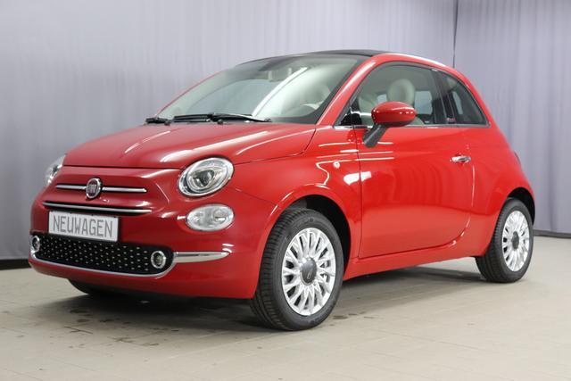 Fiat 500C - Lounge 1,2 8V Sie sparen 8.755€, Klimaautomatik, Nebelscheinwerfer, 15