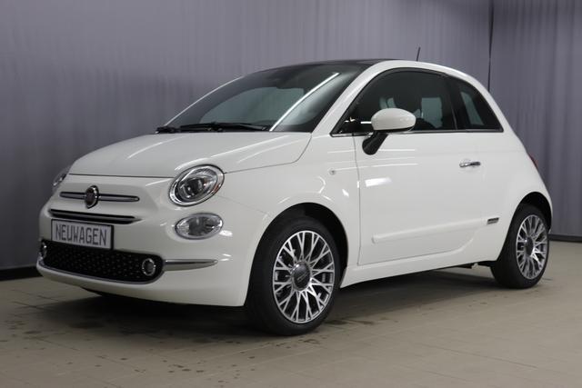 Fiat 500 - Star Sie sparen 6775 Euro 1,2 Serie7, Modell 2020, Glasdach, Uconnect Navi, DAB, 7 Zoll TFT Display, City Paket, Parksensoren, Licht- und Regensensor, Klimaautomatik, uvm.