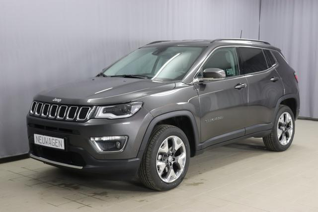 Jeep Compass - Limited Sie sparen 12.370 Euro 1.4 MultiAir 4x4 170PS 9-Stufen-Automatikgetriebe ,Smart Beam, DAB 8.4 Navigationssystem & Sound Paket 560W, Apple CarPlay, Bi-Xenon, 18