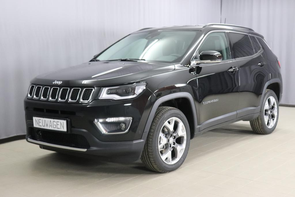 JEEP Compass Limited 1.4 125KW 170PS 9-Stufen-Automatikgetriebe MAir ATXDiamond Black Crystal P/C