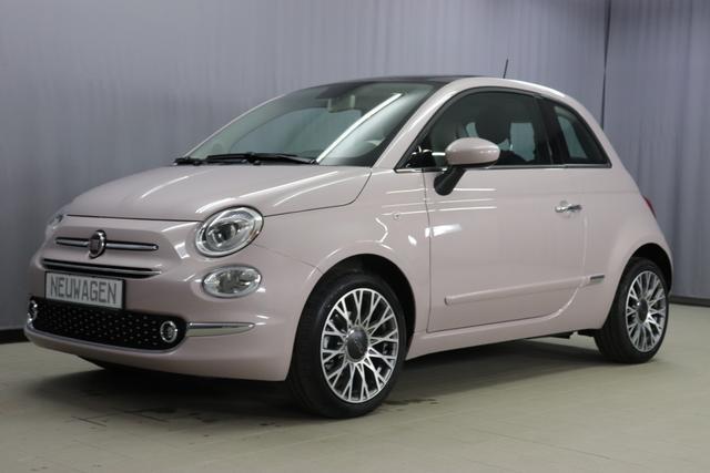 Fiat 500 - Star Sie sparen 7.415 Euro 1,2 Serie7, Modell 2020, Leder Poltrona, Uconnect Navi, DAB, Apple Android, City Paket, Parksensoren, Licht- und Regensensor, Klimaautomatik, 16 Zoll Alu, PDC, 7 TFT, Glasdach feststehend, uvm.