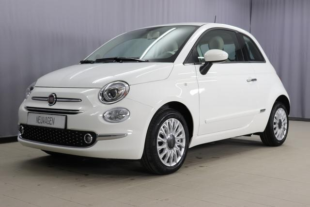 Fiat 500 - Lounge Sie sparen 6.990 Euro 1,2 8V Serie7, Modell 2020, Apple Carplay Android Lounge-Kit, Komfort Paket, 15