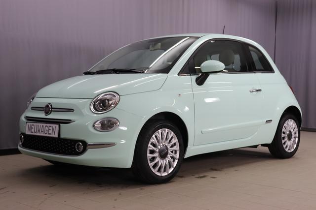 Fiat 500 - Lounge Sie sparen 6990 Euro 1,2 Serie7, Modell 2020, Lounge-Kit, Komfort Paket, 15