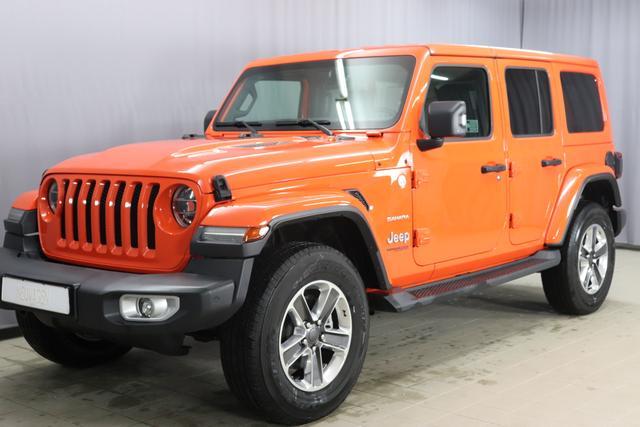 Jeep Wrangler - Unlimited Sahara JL Sie sparen 16.110 Euro 2.0 l T-GD DSG Automatik, Uconnect Navigation 8,4