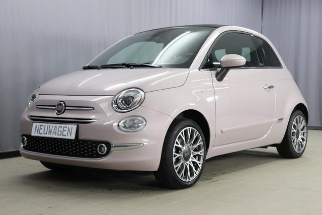 Fiat 500C - Star Sie sparen 6955 Euro 1,2 8V Navigationssystem, DAB, Klimaautomatik, PDC hinten, Apple Carplay / Android Auto, Licht und Regensensor, Lederschaltknauf, 16 Zoll Alufelgen