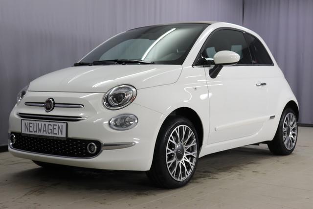 Lagerfahrzeug Fiat 500C - Star 1,2 8V UVP 22.305 Euro, Navigationssystem, DAB, Klimaautomatik, PDC hinten, Apple Carplay / Android Auto, Licht und Regensensor, Lederschaltknauf, 16 Zoll Alufelgen uvm.