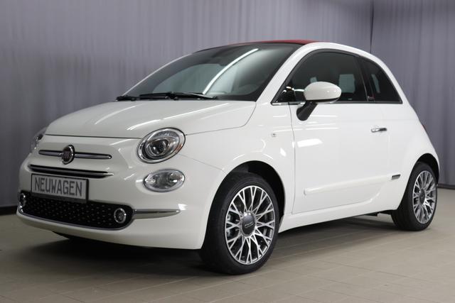 Fiat 500C Star Sie sparen 7315 Euro 1,2 8V Navigationssystem, DAB, Klimaautomatik, PDC hinten, Apple Carplay / Android Auto, Licht und Regensensor, Lederschaltknauf, 16 Zoll Alufelgen