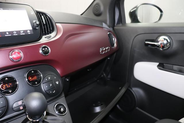 Fiat 500 1,2 8V S&S Star 51kW 69 PS876 Vesuvio Schwarz