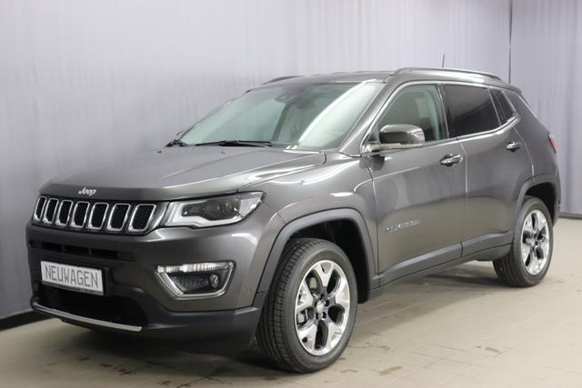 Jeep Compass - Limited Sie sparen 11.370 Euro 1.4 MultiAir 4x4 170PS 9-Stufen-Automatikgetriebe ,Smart Beam, DAB 8.4 Navigationssystem & Sound Paket 560W, Apple CarPlay, Bi-Xenon, 18