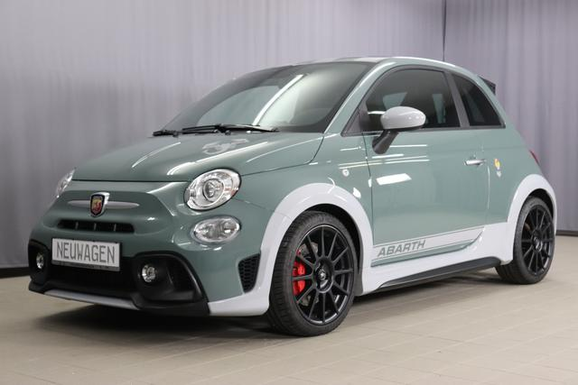 Abarth 695 - Anniversario 70th Sie sparen 7.070,- 1.4 T-Jet MY20 180PS, Beats Audio Soundsystem, CITY PAKET, BMC Sportluftfilter und Tankdeckel aus Aluminium, Bodykit in Campovolo Grau, Rennsport Schalensitze, Navigationssystem