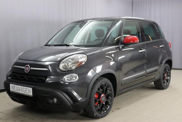 Fiat 500L Cross - Sie sparen: 5670 Euro = 25,03 % 1,4 SPORT 1.4 16V 70kW (95PS) E6D-Temp, Navigationssystem, Bremssättel, rot lackiert, 17 Zoll Alufelgen, Sitzheizung vorne, Style Paket Sport; lackierte Außenspiegel uvm