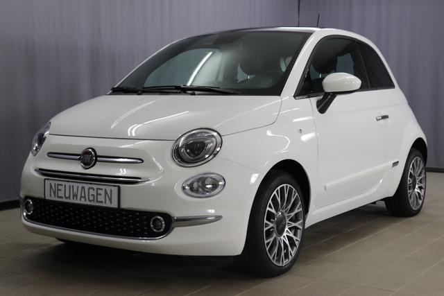 Fiat 500 - Star Sie sparen 7.315 Euro 1,2 8V Panorama-Dach, Navigationssystem, DAB, Klimaautomatik, PDC hinten, Apple Carplay / Android Auto, Licht und Regensensor, Lederschaltknauf, 16 Zoll Alufelgen