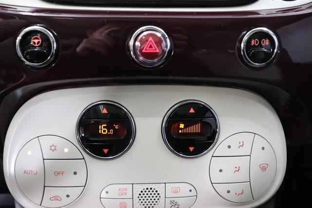 Fiat 500 Dualogic 1,2 8V S&S  Lounge 51kW 69 PS  866 Opera Bordeaux
