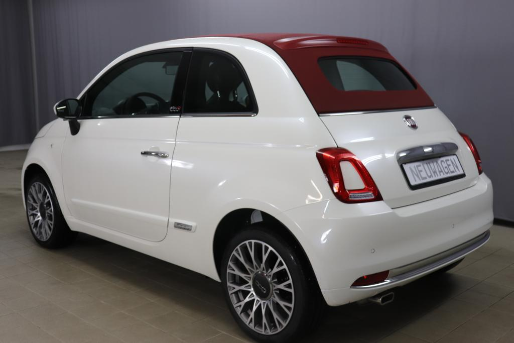 Fiat 500C 1,2 8V S&S Star 51kW 69 PS227 Chiaccio Weiss