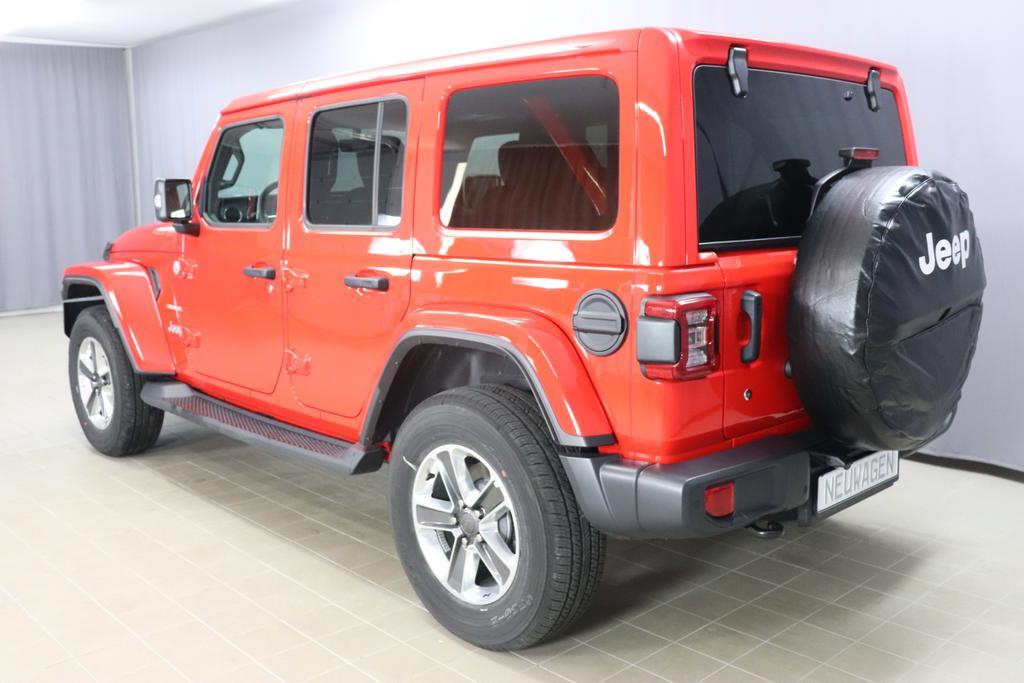 Jeep Wrangler Unlimited MY 2018 Sahara 2,0 T 272 PS Automatikgetriebe DSG 4 WDPRC FIREACKER RED