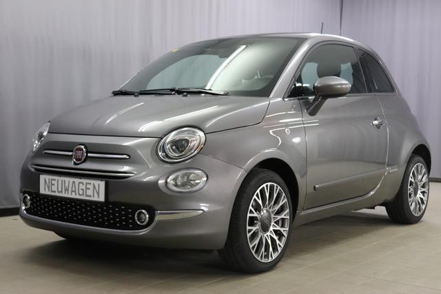 Fiat 500 - Star Lounge Sie sparen 7315 Euro 1,2 Glasdach, Uconnect Navi, DAB, Apple Android, 7 Zoll TFT Display, 16 Alu, City Paket, Parksensoren, Licht- und Regensensor, Klimaautomatik, Nebelscheinwerfer, uvm.