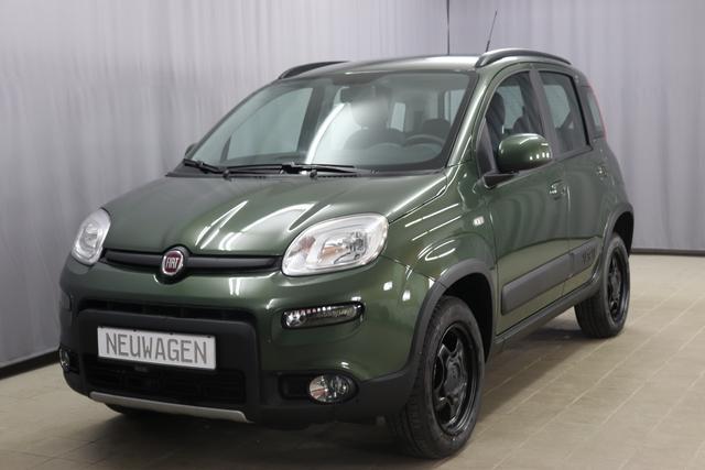 Lagerfahrzeug Fiat Panda - Wild 4x4 UVP 17.990,00 Euro 0,9 Twin Air Turbo 85, Klimaautomatik, Alufelgen 15 Zoll, Isofix , Zentralverriegelung mit Fernbedienung, Höhenverstellbarer Fahrersitz