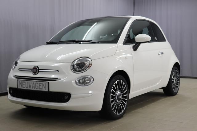 Fiat 500 - LAUNCH EDITION Sie sparen 5.590,00 Euro 1.0 GSE HYPRID (70PS) Euro6d-Temp, Jetzt als Hybrid (Mild-Hybrid), Klimaautomatik, City Paket: Parksensoren hinten, Lichtsensor und Regensensor, Glasdach, feststehend uvm.