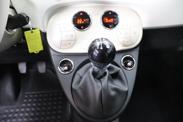 Fiat 500 1,2 8V S&S  Lounge 51kW 69 PS268 Weiß