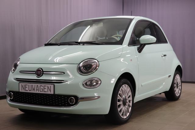 Fiat 500 - Lounge Sie sparen 7.020 Euro 1,2 Serie 7 Modell 2020, Navigation+DAB, Volldigitales Kombiinstrument TFT Display, Klimaautomatik, PDC hinten, Nebelscheinwerfen, Notrad, Komfort Paket, Chromspange um den Kühlergrill uvm.