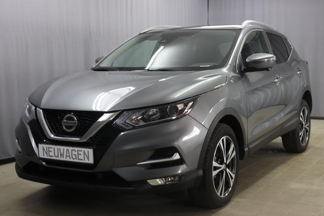 Nissan Qashqai - N-Connecta Sie sparen 11.045,00 Euro 1.3 DIG-T Automatik, Panoramadach Fest, 18