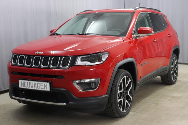 Jeep Compass - Limited Sie sparen 13.280,00 1,4 125kW 170 PS Multi Air AWD Allrad 9 Stufen Automatikgetriebe, Panorama-Schiebedach, 19