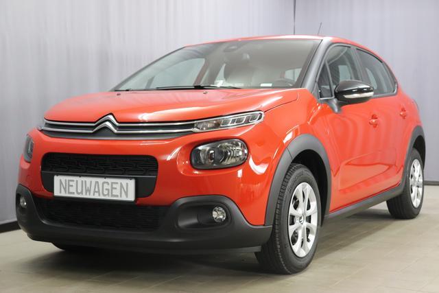 Lagerfahrzeug Citroën C3 - FEEL UVP 19.510,00 Euro 1,2 PureTech 82 Stop&Start Mirror Screen, Sitzheizung, Einparkhilfe hinten, Nebelscheinwerfer, Regensensor, Klimaautomatik, Spurassistent uvm