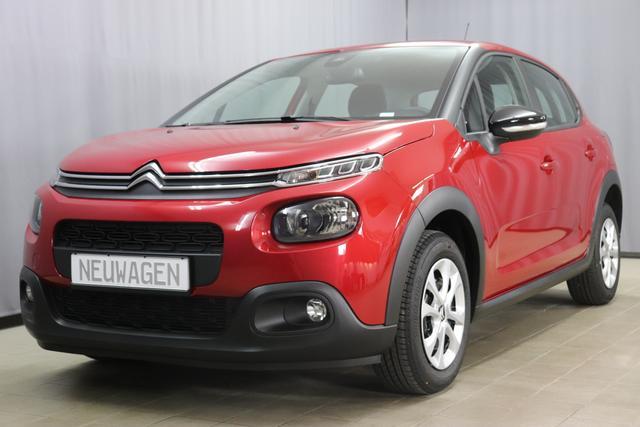 Citroën C3 - FEEL Sie sparen 6020 Euro 1,2 PureTech 82 Stop&Start Mirror Screen; Apple Android, Sitzheizung, Einparkhilfe hinten, Nebelscheinwerfer, Regensensor, Klimaautomatik, Spurassistent uvm