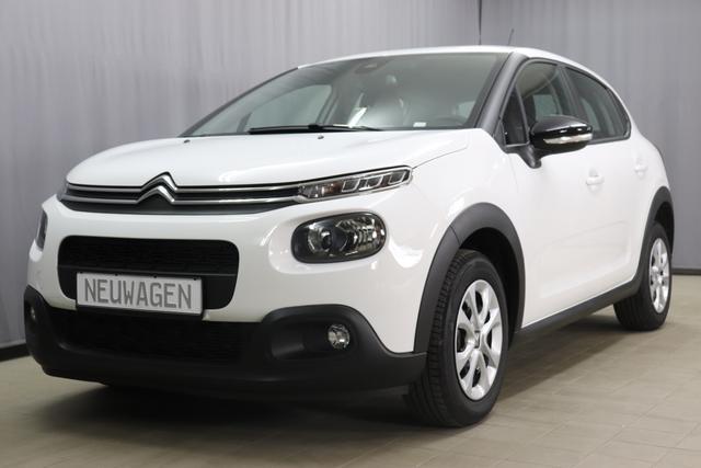 Citroën C3 - FEEL Sie sparen 6520 Euro 1,2 PureTech 82 Stop&Start Mirror Screen; Apple Android, Sitzheizung, Einparkhilfe hinten, Nebelscheinwerfer, Regensensor, Klimaautomatik, Spurassistent uvm