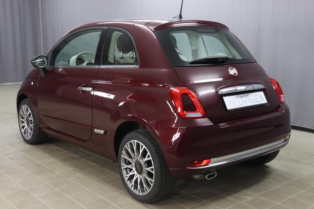 Fiat 500 1,2 8V S&S  Lounge 51kW 69 PS866 Opera Bordeaux Metallic
