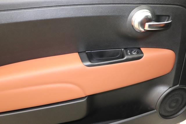 595 Competizione 1.4 T-Jet 132 KW (180PS) MY20 Dualogic268/5CA Gara Weiß8RT Rennsport Sabelt GT Leder Brau / Schwarz