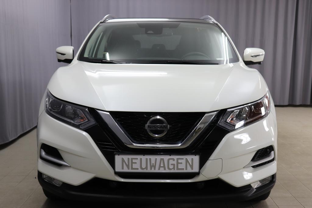 Nissan Qashqai 1.3 DIG-T Automatik 118KW 160PSWeiß Perleffekt Lackierung (QAB)