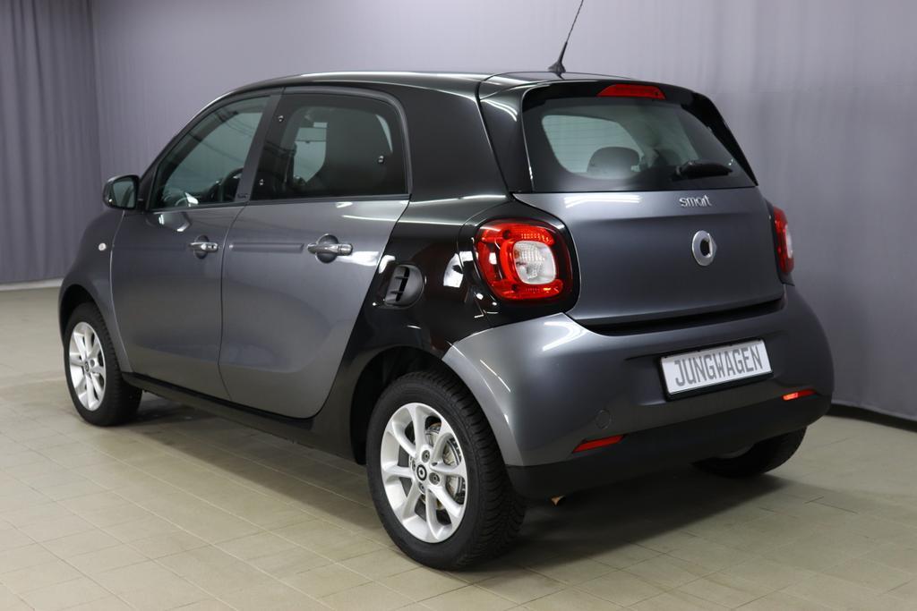 MCC Smart ForFour/ 1.0 Passion / 1,0 Benzin / 5-Gang SchaltgetriebeBenzin / 52kW     71PS  140co2Grau Metallic