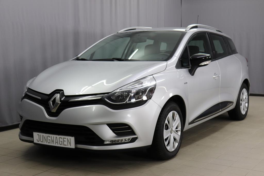 Renault Clio / 1.2 Limited / 0,9 Benzin/ 5-Gang SchaltgetriebeBenzin / 56kW      76PS 137co25-Gang SchalterPlatin Grau MetallicStoff anthrazit