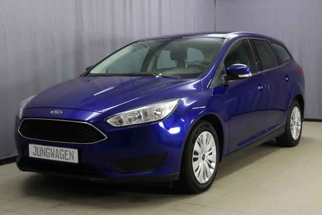 Ford Focus Turnier - Trend 1.6 Ti-VCT Trend, Lederlenkrad, CD Player, USB Anschluss vorne und hinten, Klimaanlage, Bluetooth, Freisprecheinrichtung, 16 Zoll uvm.
