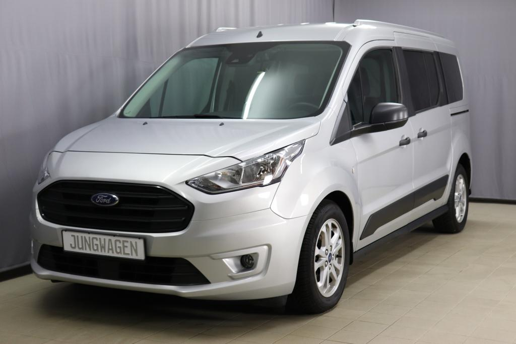 Ford Transit Connect/ 1.5 TDCI Trend / Automatik / 1,5 Diesel	Diesel / 74kW       101PS  171co2	Automatik	Polar Silber Metallic	Stoff anthrazit