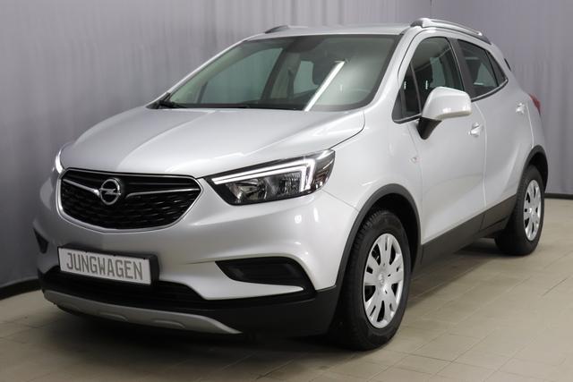 Opel Mokka X - Selection 1,4 Turbo 120ps, Freisprecheinrichtung, Lichtsensor, LED-Tagfahrlicht, ISOFIX, Klimaanlage, 6-Gang Schaltgetriebe uvm.