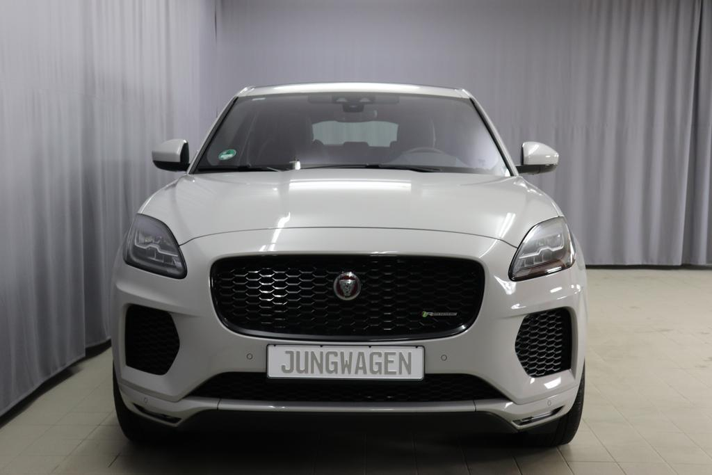 Jaguar E-Pace / 2.0 P200 AWR R-Dynamic SE / Automatik/ 2,0 Benzin/ AllradBenzin / 147kW    200PSAutomatikGrau UniLeder Schwarz